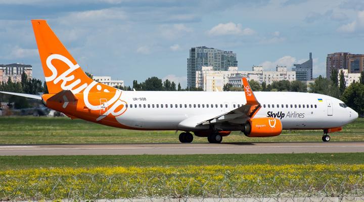 украинский лоукостер Sky Up получил разрешение на новые маршруты