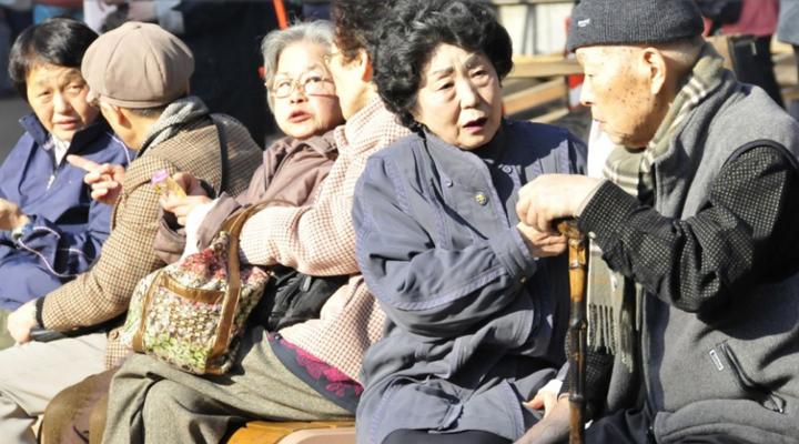 увеличение продолжительности жизни в Японии
