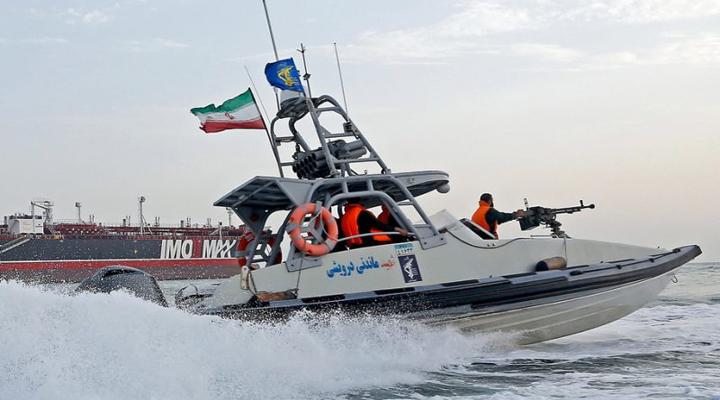 захоплення іноземного танкера в Перській затоці