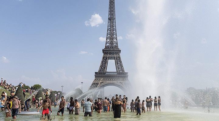 аномальна спека у Франції