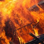 Пожар на китайской фабрике. Погибли 19 человек