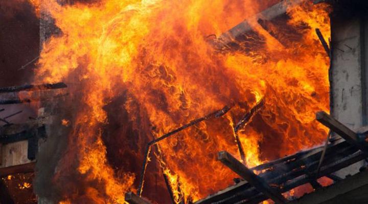 боротьба з вогнем тривала понад півтори години