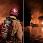 34 людини опинилися в пастці в палаючому човні. Рятувальна операція біля узбережжя Каліфорнії