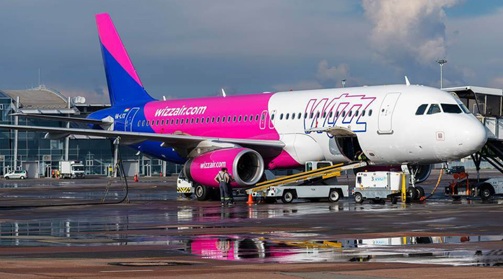 компанія Wizz Air надасть більше посадочних місць