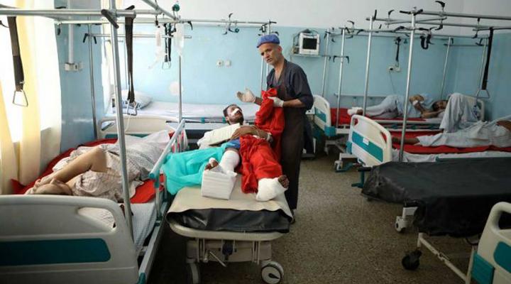 от теракта больница пострадала больше всего