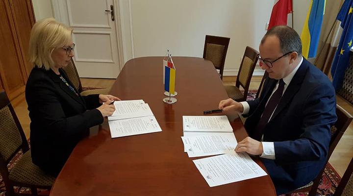 Польша и Украина подписали антиксенофобный договор