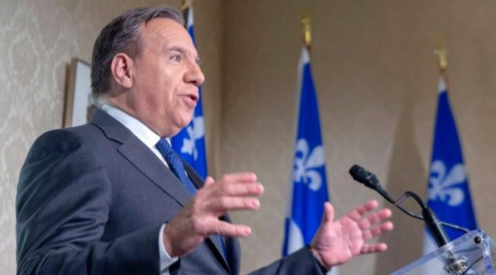 Прем'єр-міністр Квебеку Франсуа Лего
