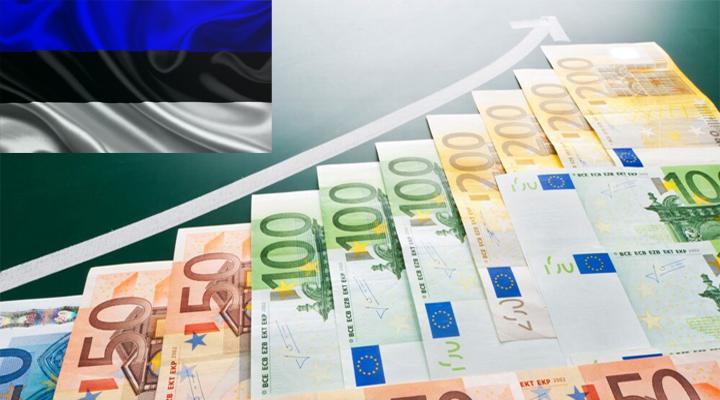 зростання зарплат в Естонії