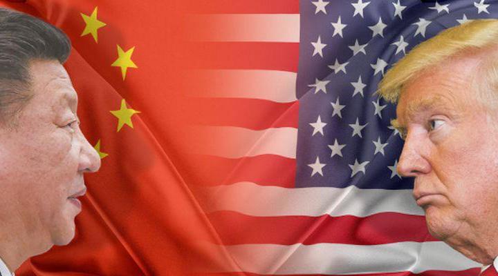 торгові війни між США і Китаєм
