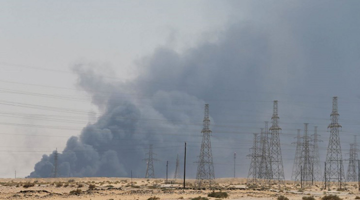в два рази скоротився видобуток нафти через напад на Саудівську Аравію