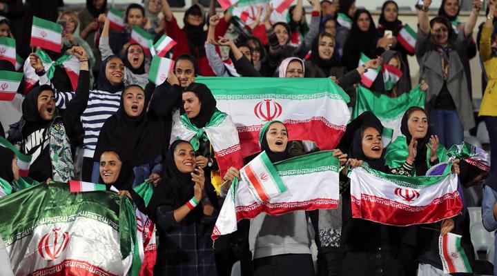 в Ірані жінкам дозволили відвідувати стадіони