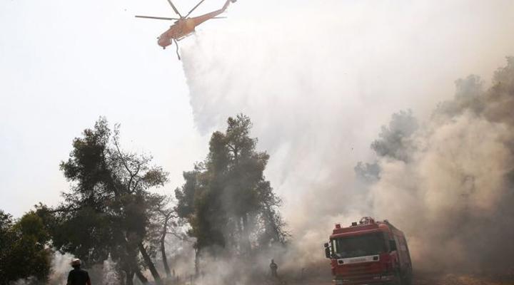 в районе Неа Макари это уже седьмой пожар за десять дней