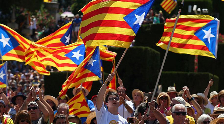 акції протесту в Барселоні