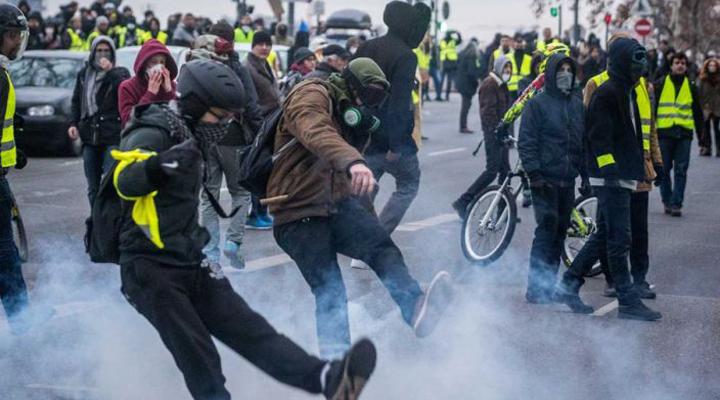 акції протесту «жовтих жилетів»