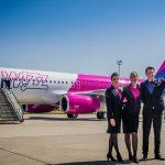 Авиакомпания Wizz Air наращивает пассажирооборот на украинских рейсах
