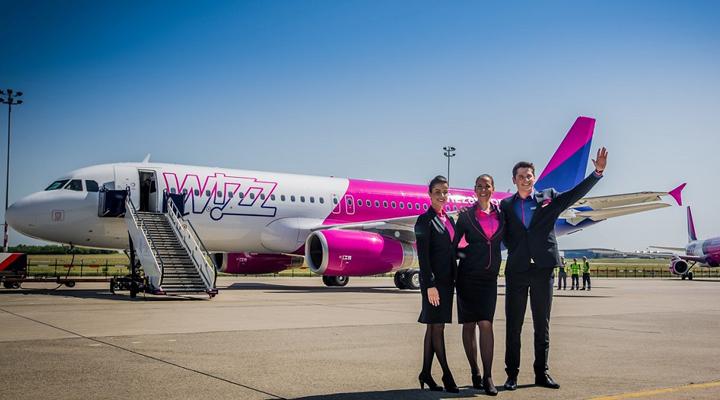 авіакомпанія Wizz Air нарощує пасажиропотік