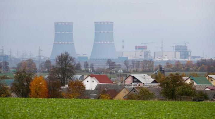 білоруська АЕС будується приблизно в 20 км від литовського кордону
