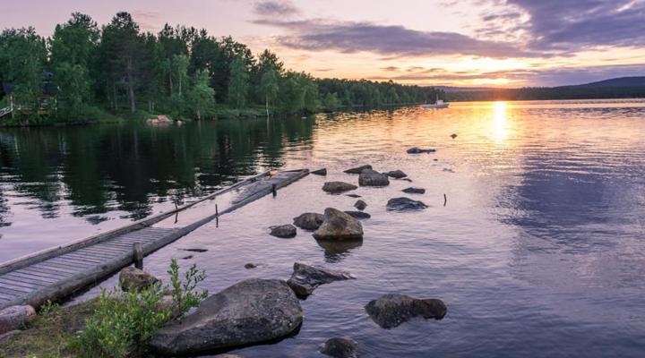 фінське озеро Інаріярві було названо найкрасивішим місцем Європи