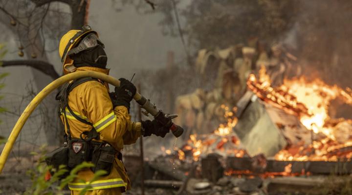калифорнийские власти ввели чрезвычайное положение