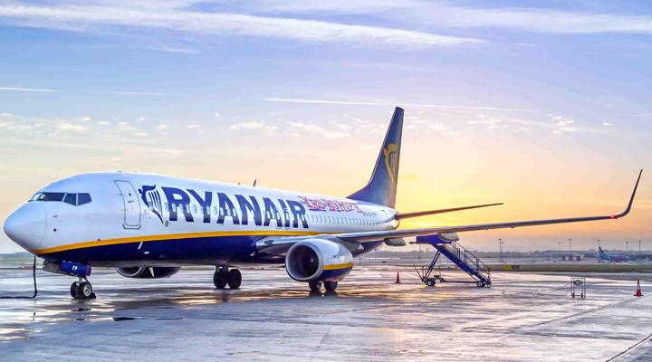 компанія RYANAIR збільшує кількість маршрутів