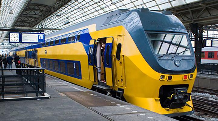 нічний поїзд з Амстердама до Мюнхена і Відня