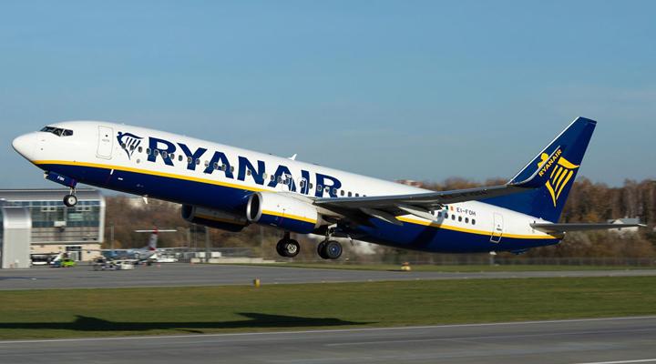 новий рейс авіакомпанії Ryanair