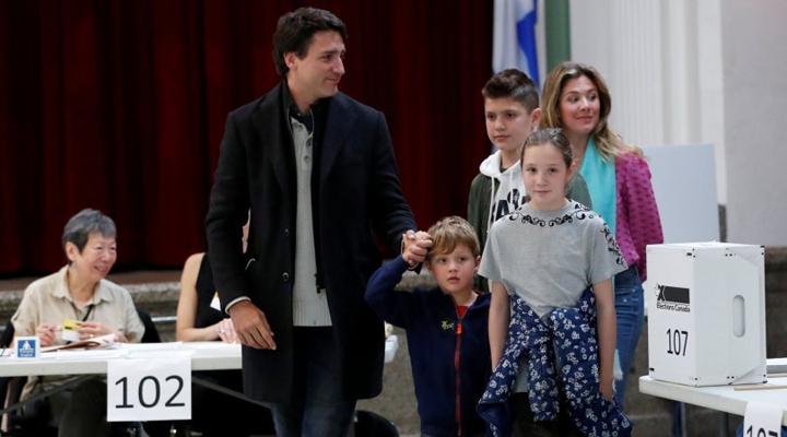 победа на выборах партии Трюдо