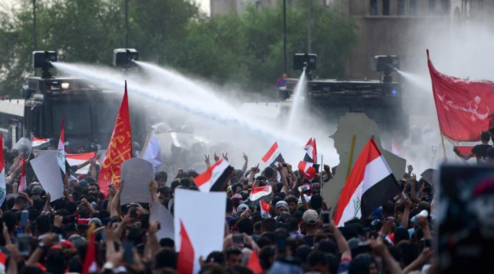протести в Багдаді
