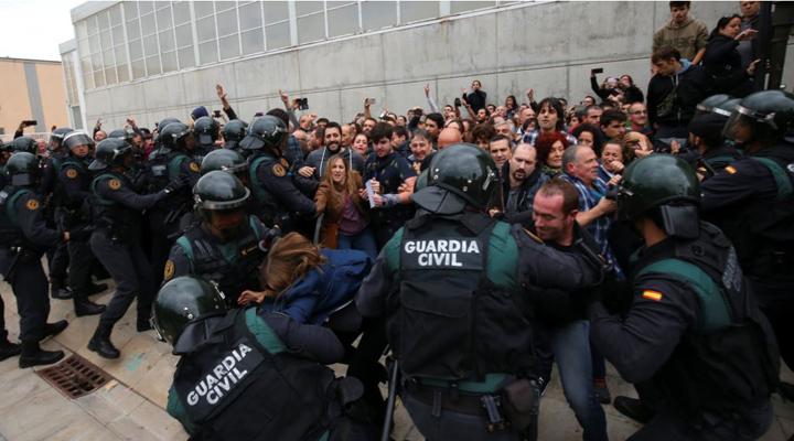 зіткнення в Барселоні