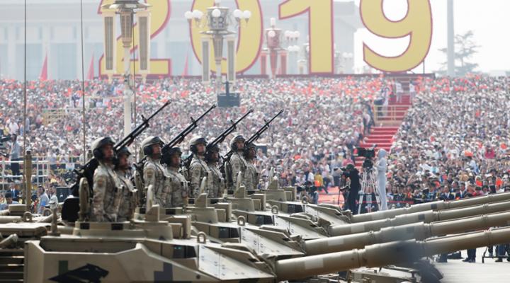 военный парад в Китае