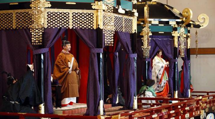 японский император Нарухито и императрица Масако