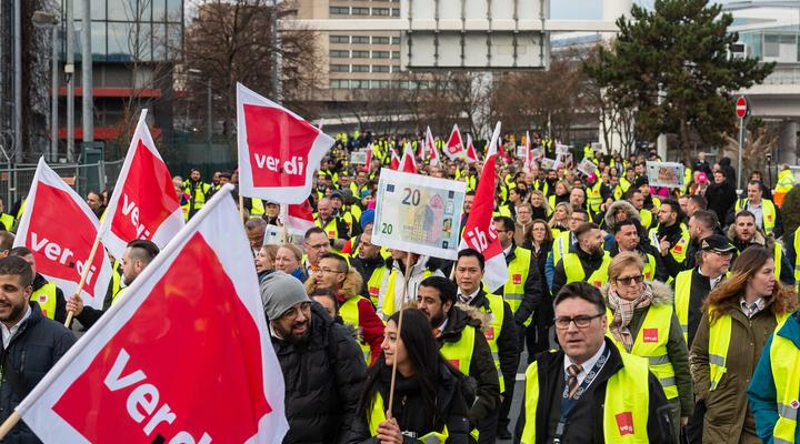 страйки в Німеччині і Франції