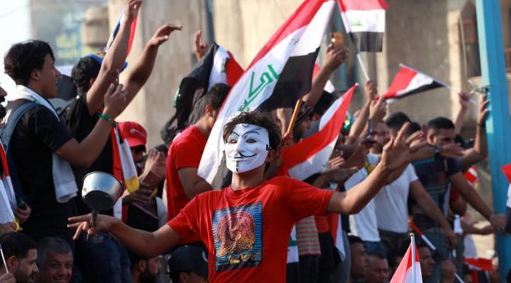 акція протесту в Багдаді