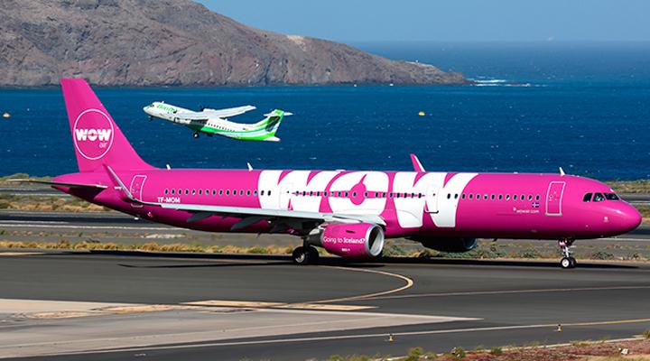 бюджетна авіакомпанія WOW Air