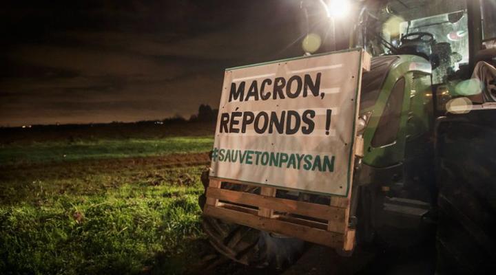 фермерський протест у Франції