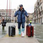 Венеція все ще потопає в воді. Приплив затопив 60 відсотків міста