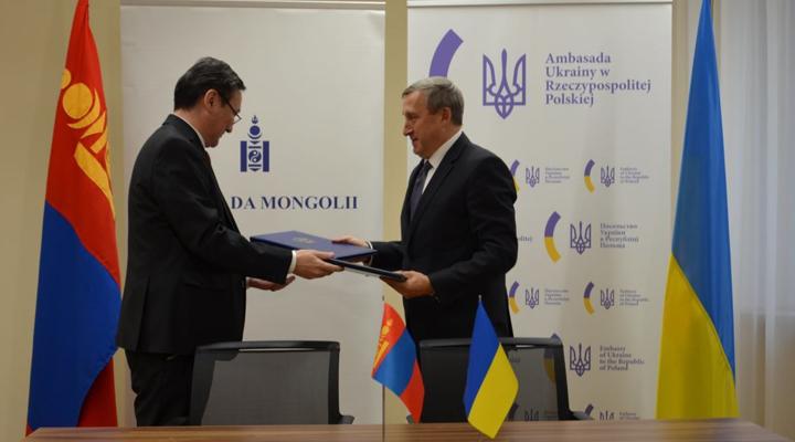 підписана угода про безвіз між Україною і Монголією