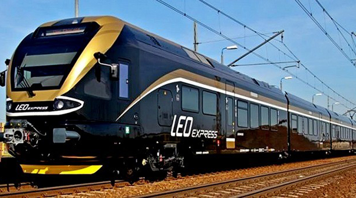 поезда чешской компании начнут Leo Express начнет курсировать в Украину