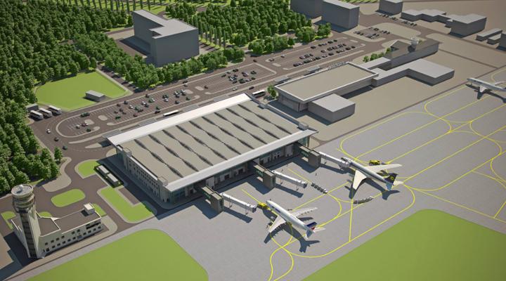 проект будівництва міжнародного аеропорту в Дніпрі