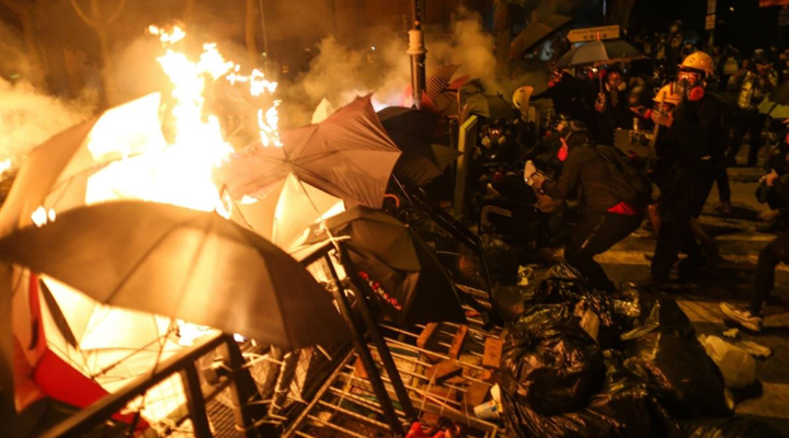 протести посилилися після 11 листопада