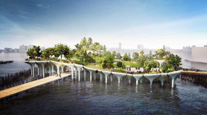 в США откроется необычный парк, который получил название «Маленький остров»