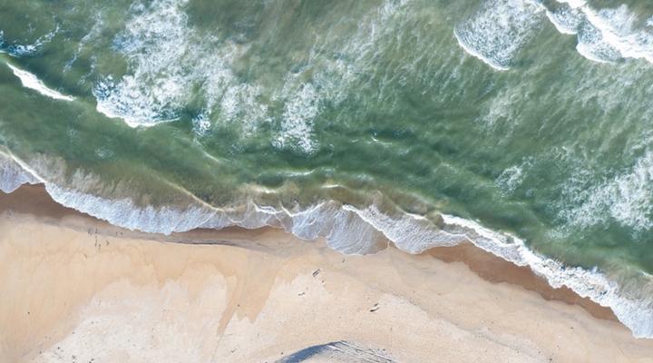 хвилі виносять сотні кілограмів наркотиків