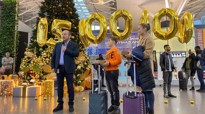 15-мільйонного пасажира аеропорту «Бориспіль»