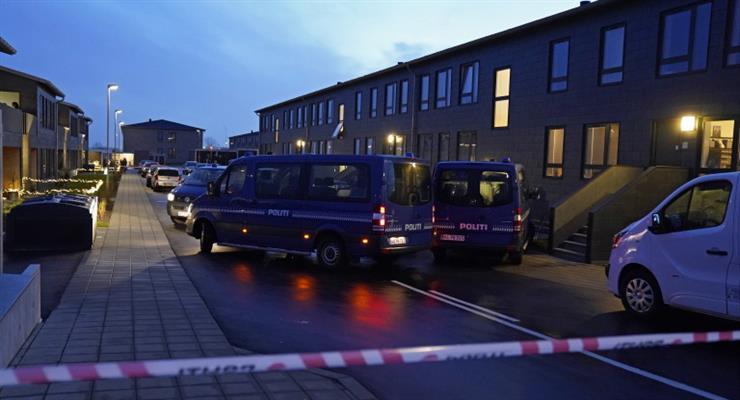 задержание террористов в Дании
