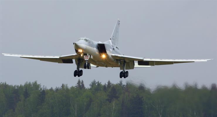 Российский бомбардировщик Ту-22