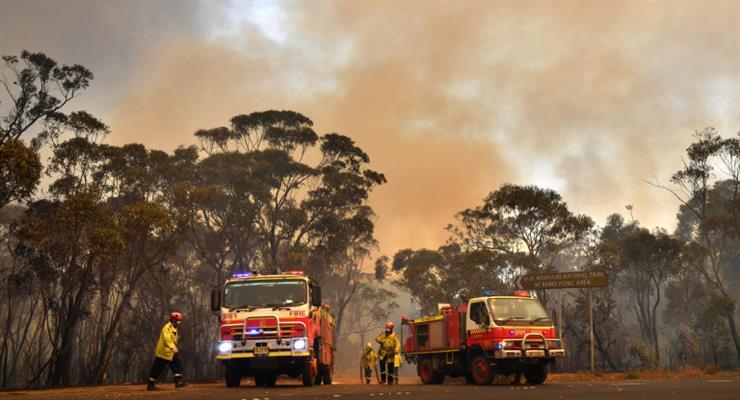 рекордные температуры ожидаются в Австралии