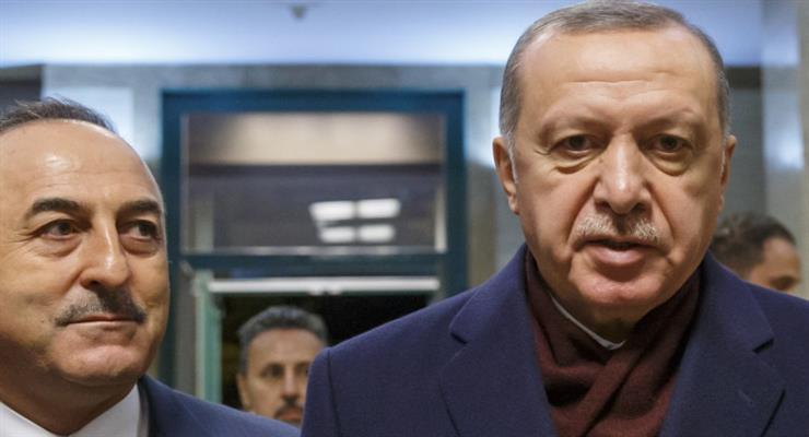 Эрдоган против России в Ливии