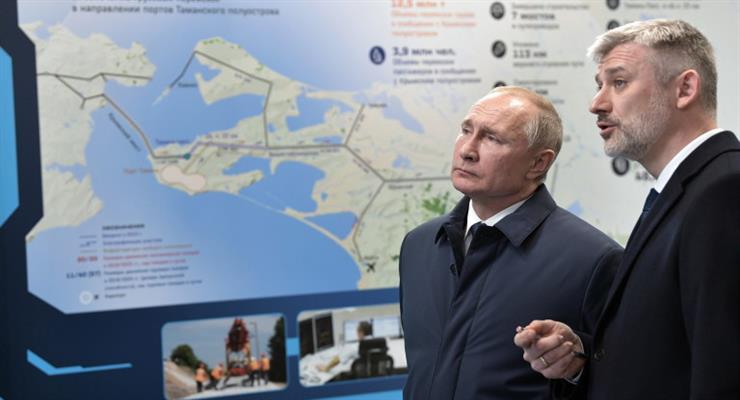 В ЕС осуждают открытие железной дороги через Керченский мост