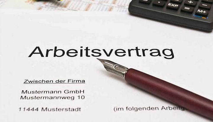 Arbeitsvertrag - трудовой договор в Германии