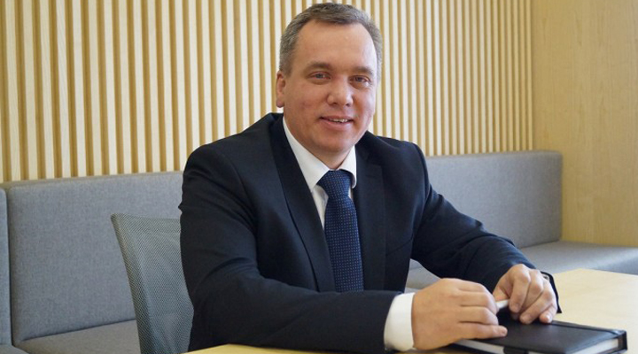 генеральний директор авіакомпанії SkyUp Airlines Євген Хайнацкий